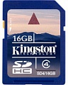 Kingston SDHC 16 Gb Class 4 (25)