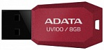 Флэш-диск A-Data 08 Gb UV100 Red