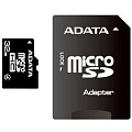 A-Data Micro SDHC 32 Gb Class 4 + adapt.