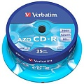 Verbatim CD-R 700mb, 52x, Сake (25)